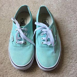 Vans Mint Green Sneakers